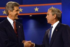 你说的是Bush英语还是Kerry英语?