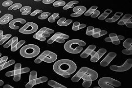 什么英文字体好看?